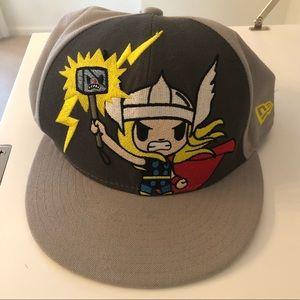 Marvel Tokidoki Thor Hat 7 1/4